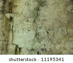 Old cracked wall background - stock photo