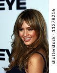 The Eye USA Premiere held at the Pacific Arclight Cinema. Jessica Alba - stock photo