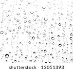 Rain Drops - stock photo