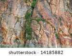 Mountain Color texture - stock photo