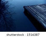 The Dock - stock photo