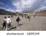 Versailles, France - stock photo