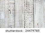 weathered white wash fence - stock photo
