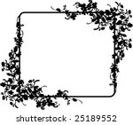 Vector frame - stock vector