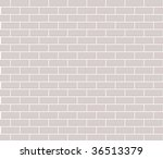 Wall vector background - stock vector