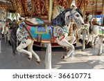 Carnival Carousel - stock photo