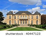 Rodin Museum, Paris, France - stock photo
