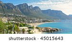 CAPE TOWN AREA - SOUTH AFRICA - stock photo