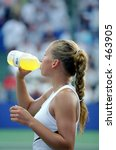 Anna Kournikova at 2000 Acura Tennis Classic - stock photo
