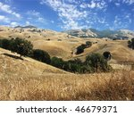 Mt. Diablo State Park, foothills - stock photo