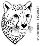 Cheetah - stock vector