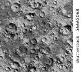 Seamless Texture surface of the moon high-resolution 36 megapixels. Texture number 6 in the collection of the author - stock photo