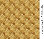 Seamless background of bamboo or rattan texture - stock photo