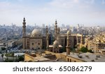 Cairo skyline, Egypt - stock photo