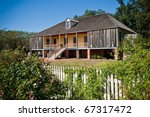 Laura Plantation House - stock photo