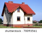 Rural house - stock photo