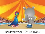 Circus Arena - stock vector