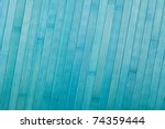 Blue bamboo background - stock photo