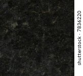 Granite texture, black Ubatuba variety - stock photo