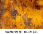 Abstract old rusty metal background - stock photo
