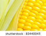 corn close up - stock photo