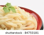 Japanese noodle - stock photo