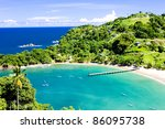 Parlatuvier Bay, Tobago - stock photo