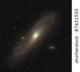 M31, The Great Andromeda Galaxy - stock photo