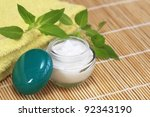 Cosmetic  cream - stock photo