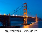 The Golden Gate Bridge - San Francisco - stock photo