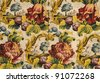 ancient fabric - stock photo