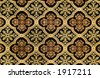 Ornate carpet pattern - stock photo
