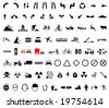 82 universal pictogram - stock vector