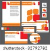 corporate identity - stock vector